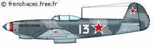 Yak3 de Robert Iribarne Yak9-iribarne